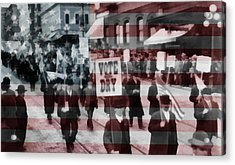American Prohibition March Acrylic Print by Dan Sproul