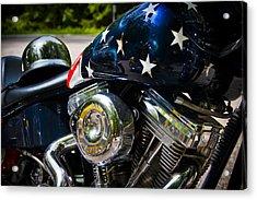 American Ride Acrylic Print by Adam Romanowicz