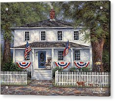American Roots Acrylic Print by Chuck Pinson