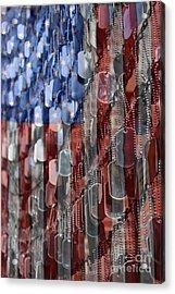 American Sacrifice Acrylic Print by DJ Florek