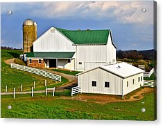 Amish Living Acrylic Print by Frozen in Time Fine Art Photography