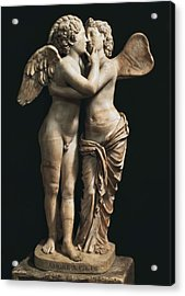 Amor And Psyche. 1st C. Hellenistic Acrylic Print by Everett