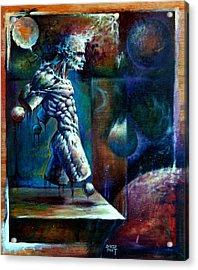 Amputee Acrylic Print by David Bollt