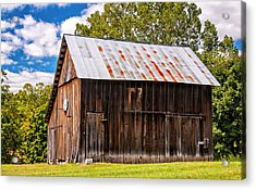 An American Barn 2 Acrylic Print by Steve Harrington
