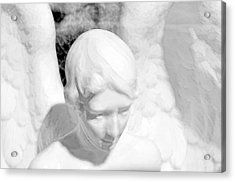 An Angel  Acrylic Print by Toppart Sweden