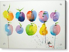 An Apple A Day Acrylic Print by Joe Prater
