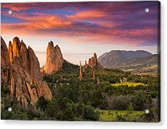 An Early Summer Morning Acrylic Print by Tim Reaves