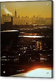 An Imposing Skyline Acrylic Print by James Aiken