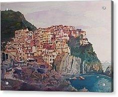An Italian Jewel Acrylic Print by Jenny Armitage