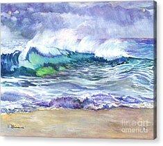 An Ode To The Sea Acrylic Print by Carol Wisniewski