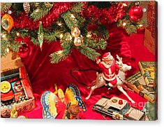 An Old Fashioned Christmas - Santa Claus Acrylic Print by Suzanne Gaff