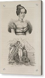 Ana Maria Cotapos De Carrera Acrylic Print by British Library