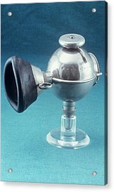Anaesthetic Ether Inhaler Acrylic Print by Science Photo Library