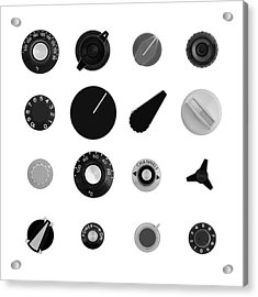 Analog Control II Acrylic Print by Jim Hughes
