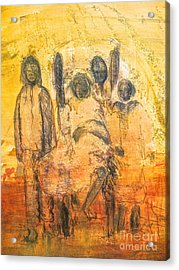 Ancestorial Family Acrylic Print by Robert Daniels