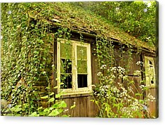 Ancient Cottage Acrylic Print by Rene Triay Photography