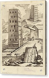 Ancient Siege Warfare Acrylic Print by Images Of The Ancient World/new York Public Library