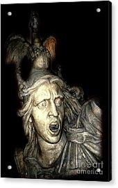 Ancient Soldier Acrylic Print by Patricia Januszkiewicz