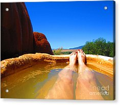 And Relax Acrylic Print by C Lythgo