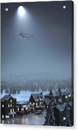 And To All A Good Night Acrylic Print by Hangar B Productions
