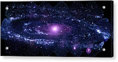 Andromeda Galaxy (m31) Acrylic Print by Nasa/swift/stefan Immler (gsfc) And Erin Grand (umcp)