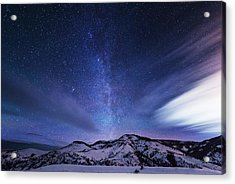 Andromeda Rising Acrylic Print by Darren  White