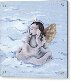 Angel Acrylic Print by Natasha Denger