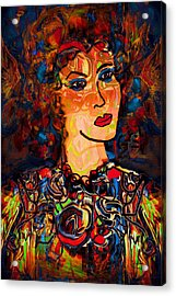 Angel Of Hope Acrylic Print by Natalie Holland