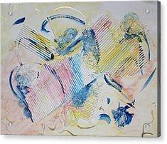 Angels Lingering Acrylic Print by Asha Carolyn Young