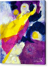 Angels Surround Me Acrylic Print by Kathy Braud