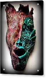 Angeni- Spirit Acrylic Print by Wynter Peguero