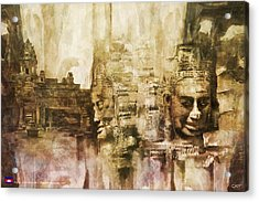 Angkor Acrylic Print by Catf