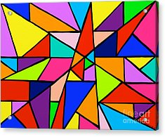 Angle Fun Acrylic Print by Anita Lewis