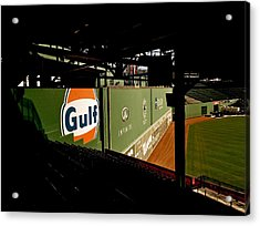 Angles Fenway Park  Acrylic Print by Iconic Images Art Gallery David Pucciarelli