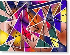 Angular Acrylic Print by Stephen Younts