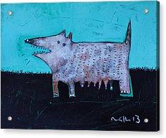 Animalia Canis No. 7  Acrylic Print by Mark M  Mellon