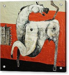 Animalia  Equos No 3 Acrylic Print by Mark M  Mellon