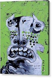 Animus No 10 Acrylic Print by Mark M  Mellon