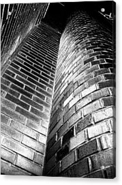 Another Brick In The Wall Acrylic Print by Barbara Drake