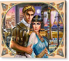 Anthony And Cleopatra Acrylic Print by Andrew Farley