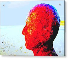 Anthony's Head Acrylic Print by C Lythgo