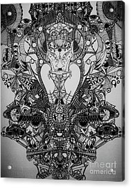 Antichrist Acrylic Print by Michael Kulick