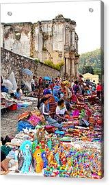 Antigua Guatemala Acrylic Print by Carey Chen