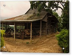 Antique Barn Acrylic Print by Chris Flees