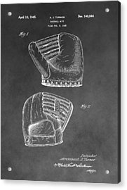 Antique Baseball Mitt Acrylic Print by Dan Sproul