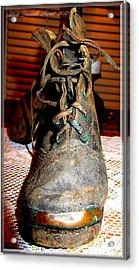 Antique Boots Acrylic Print by Danielle  Parent