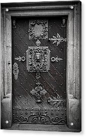 Antique Doors In Budweis Acrylic Print by Christine Till