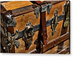 Antique Steamer Truck Detail Acrylic Print by Paul Ward