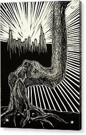 Anyway Acrylic Print by David Honaker