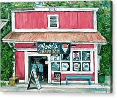 Aoki's Acrylic Print by Stacy Vosberg